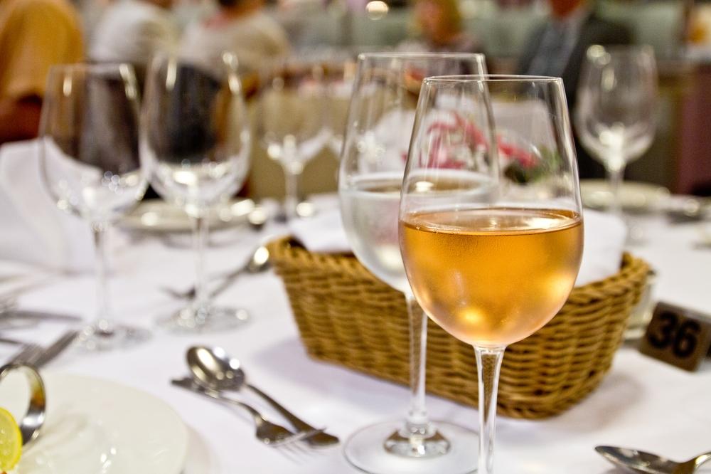 Wein Kreuzfahrt MS Astor Restaurant