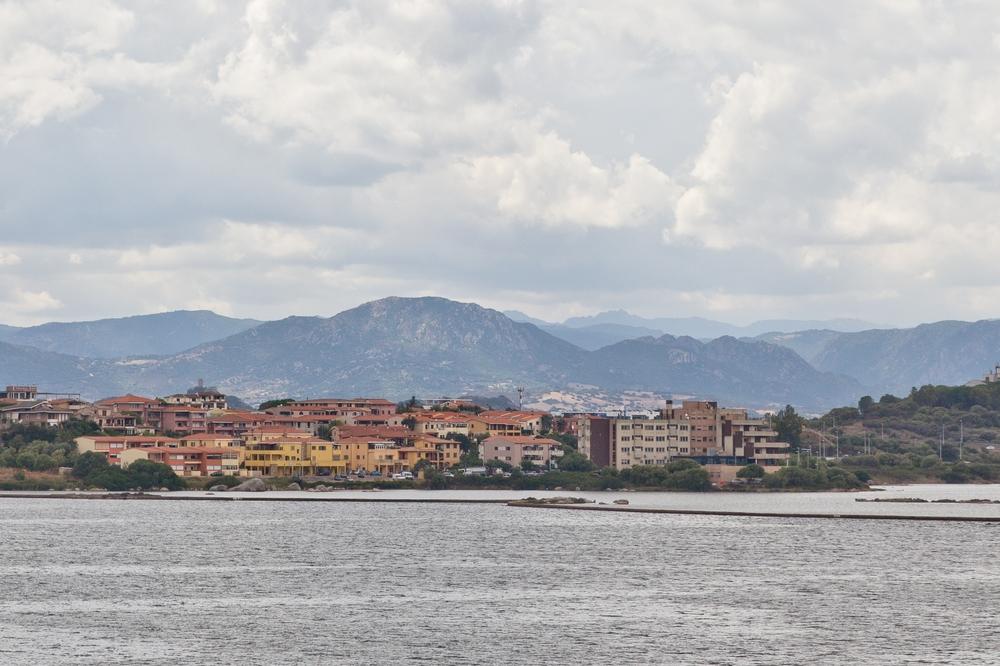 Hafen Olbia Sardinien Skyline