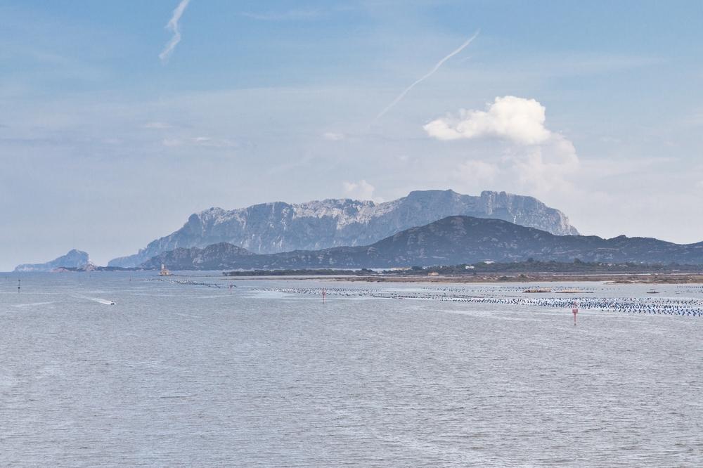 Berg Silhouette Sardinien Olbia