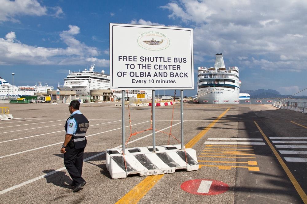 Shuttle Bus Hafen Oblia Free Kreuzfahrt