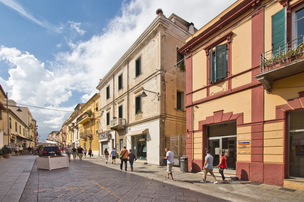 Corso Umberto Olbia Sardinien Kreuzfahrt