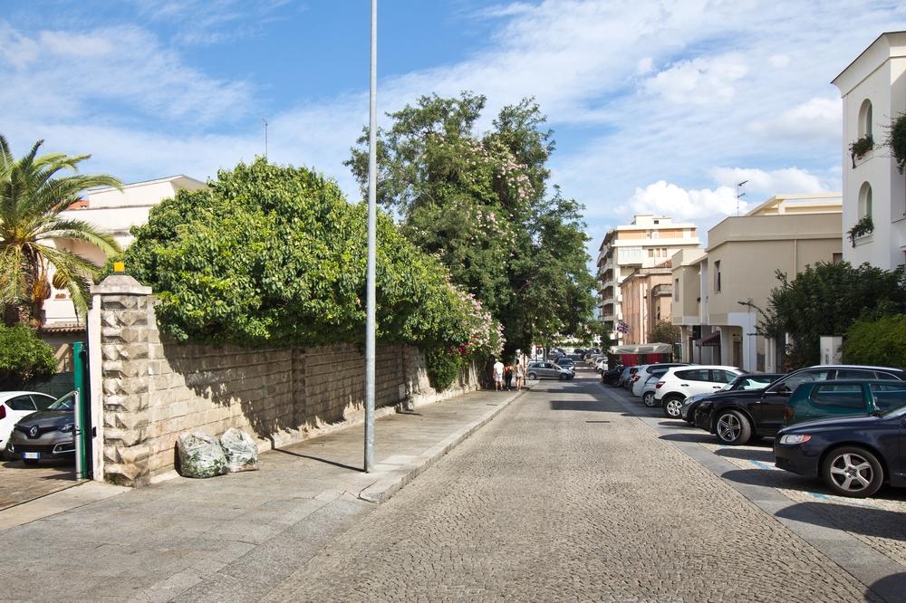 Gasse Straße Olbia