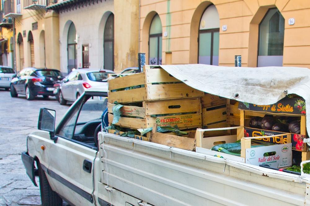 Palermo Auto Straße