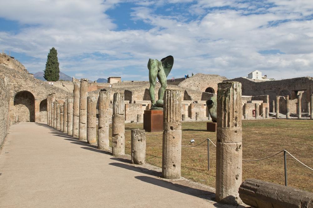 Pompeji Statuen
