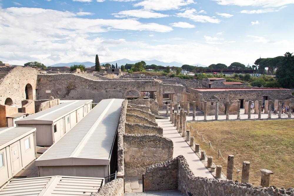 Pompeji Übersicht