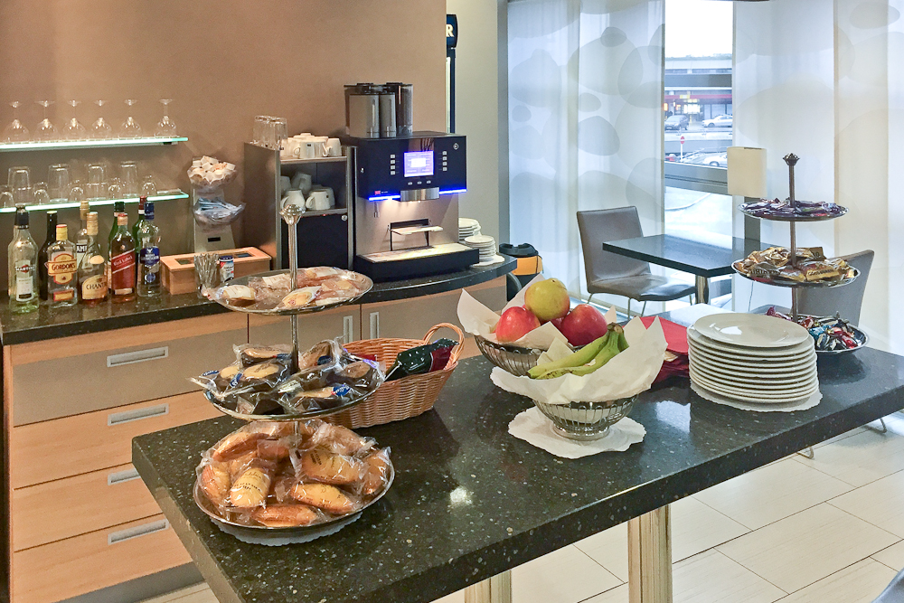 Business Lounge Tegel Airport Essen Buffet