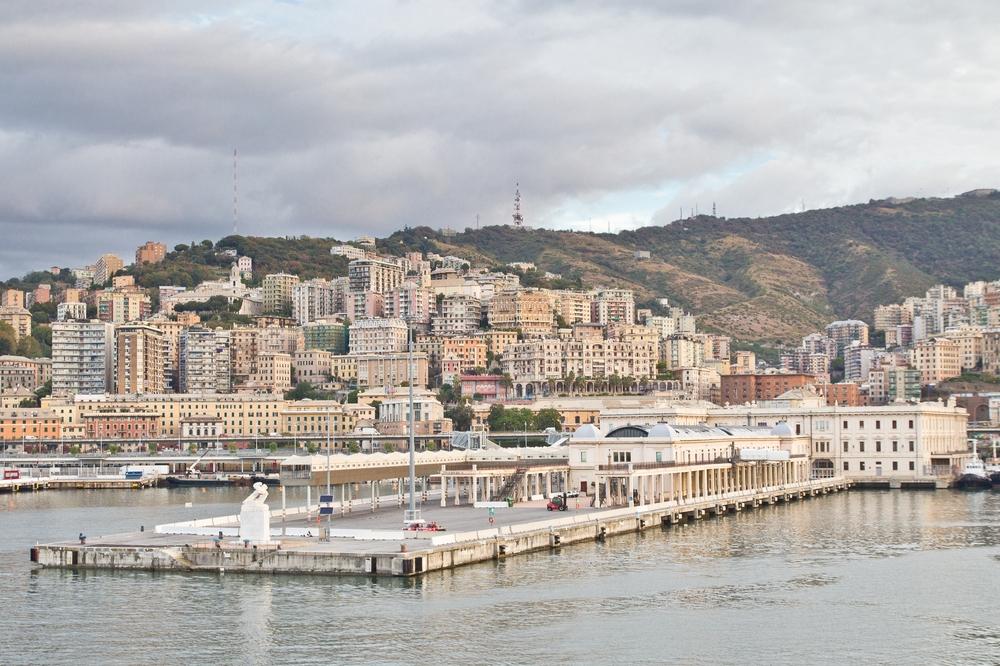 Hafen Genua Kreuzfahrt Terminal