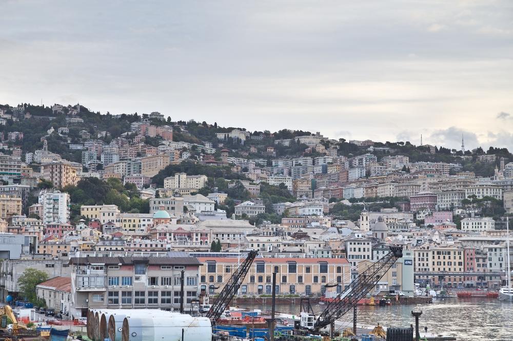 Genua Hafen Kreuzfahrt