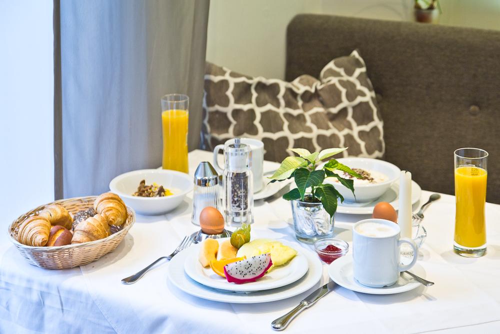 Frühstück Hotel Almesberger Oberösterreich