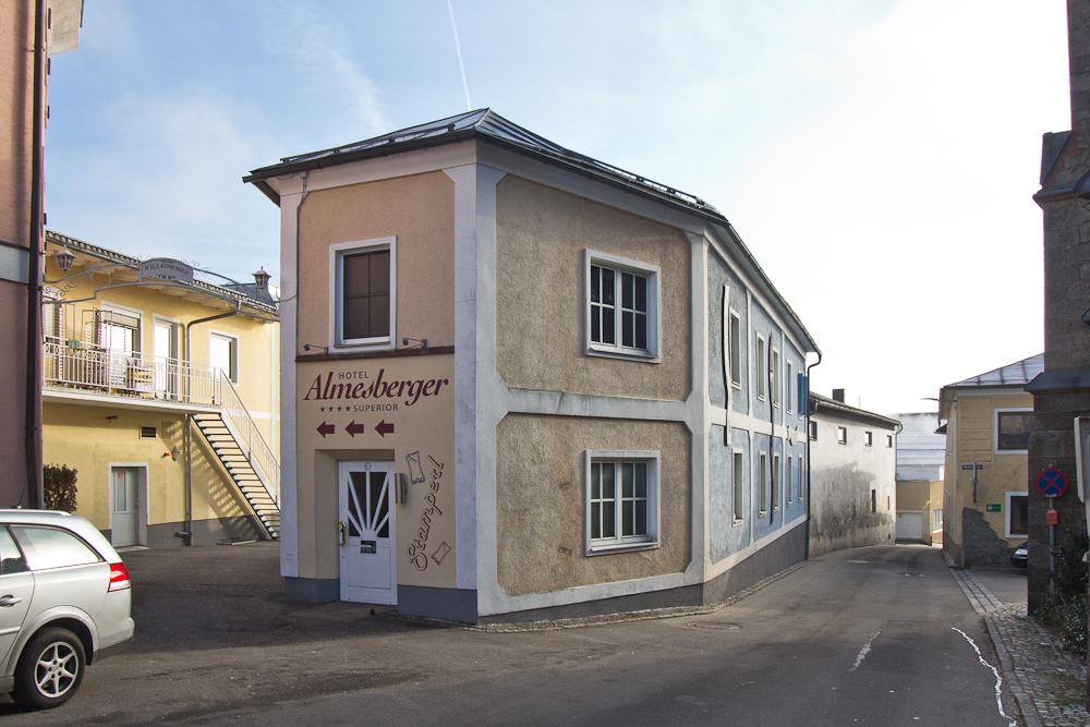 Hotel Almesberger Eingangsbereich Rezeption Oberöstereich