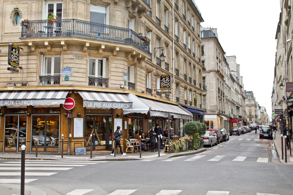 Paris Cafe Reise Travel