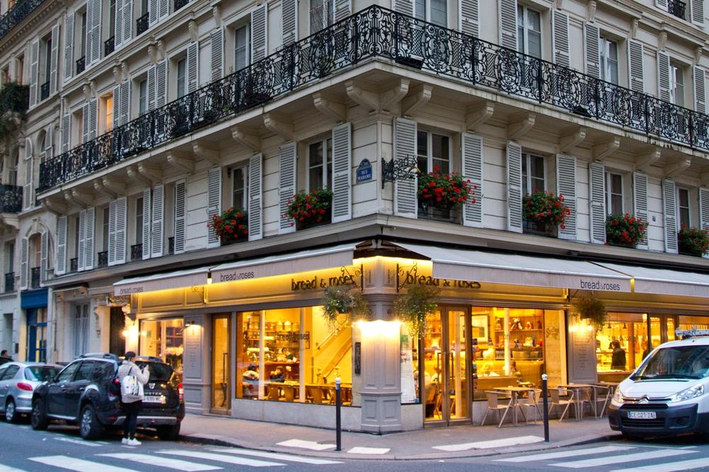 Paris Cafe Reise Travel