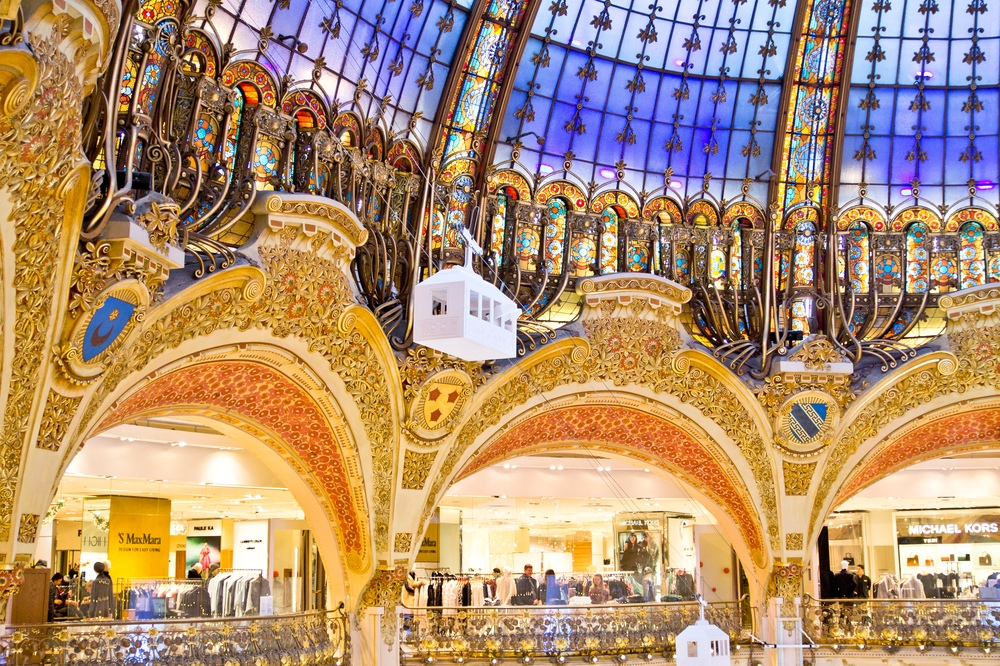 Paris Galeries Lafayette Shopping Tour