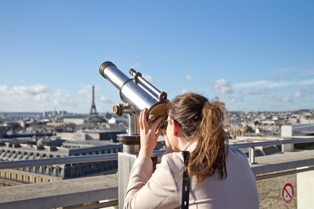 Galeries Lafayette Aussichtsplattform Terrasse