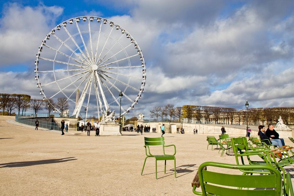 Paris Riesenrad Ferry Wheel Sightseeing