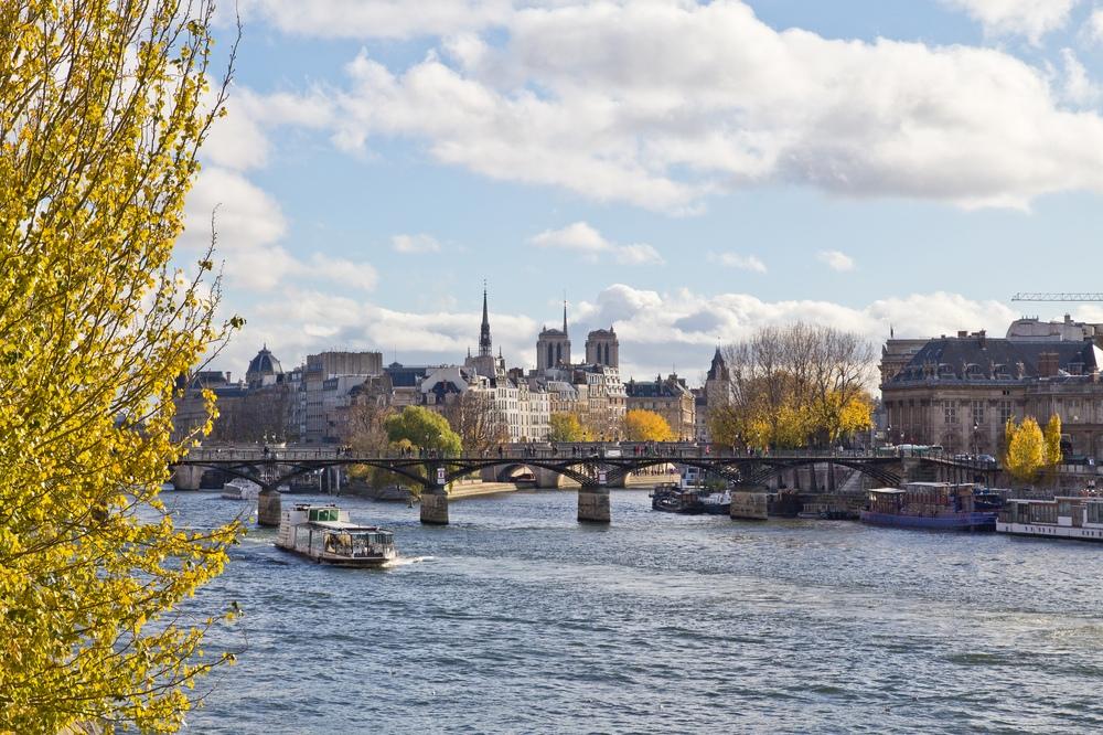 Paris Pont des Arts Seine