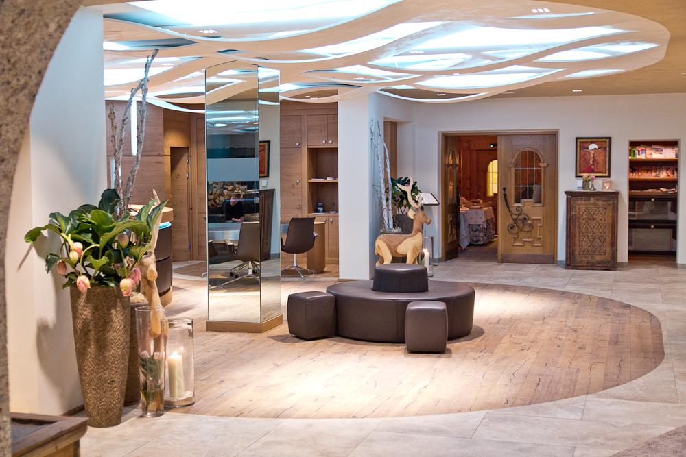Hotel Sölden Luxus Fünf Sterne Lobby