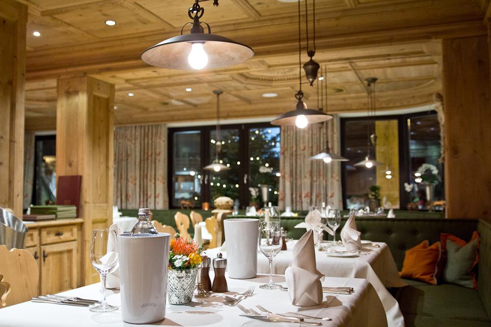 Hotel Sölden Restaurant Abendessen Das Central
