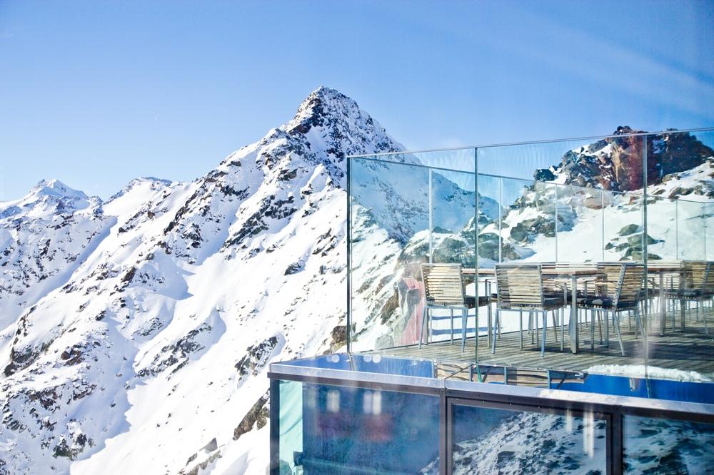 Ice Q Restaurant Hoffler Klinik Terrasse Dachterrasse