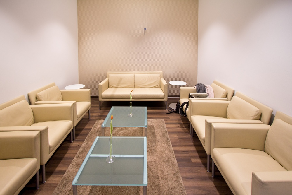Flughafen München Atlantic Lounge Sessel