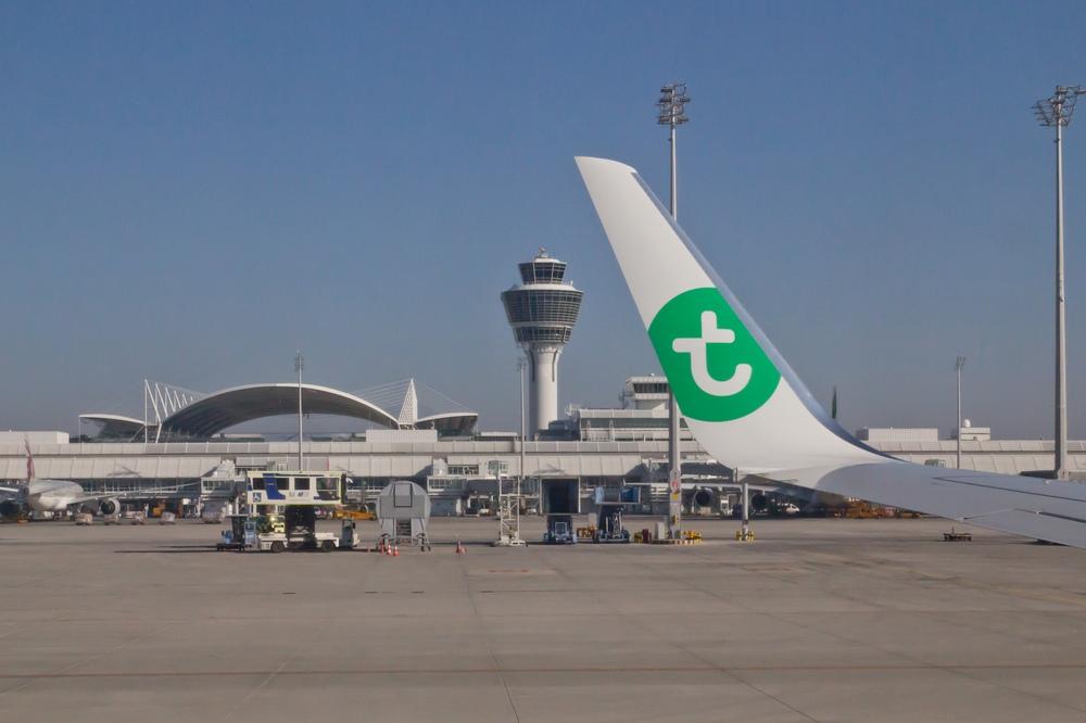 Transavia Winglet Flughafen München Tower