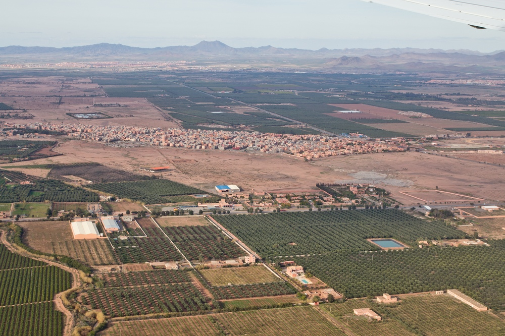 Luftbild Marrakesch