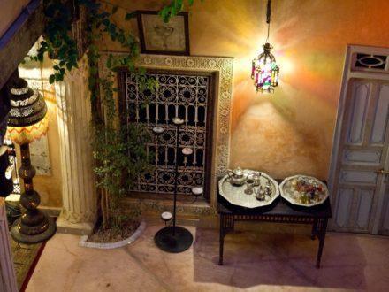 Riad Armelle Hotel Marrakesch - Innenhof