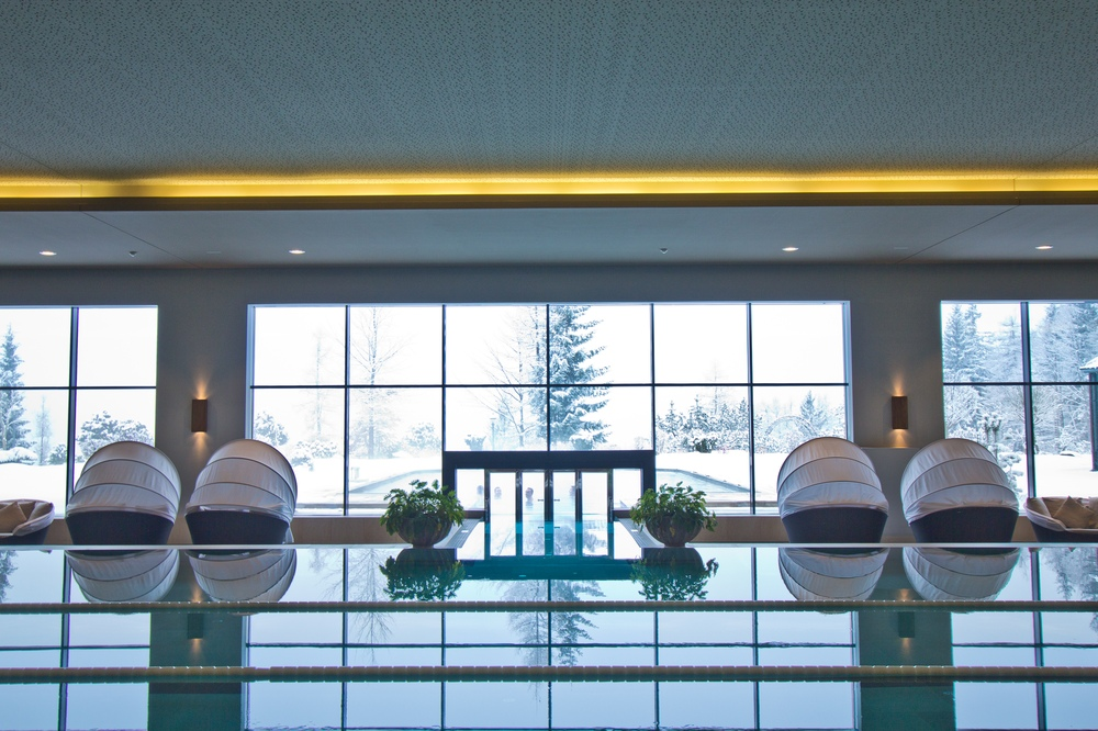 Wellness Spa Pool Interalpen-Hotel Tyrol