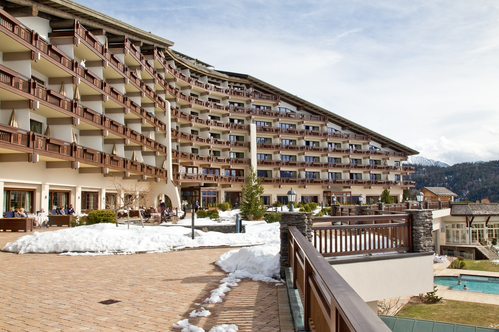 Interalpen-Hotel Tyrol Terrasse
