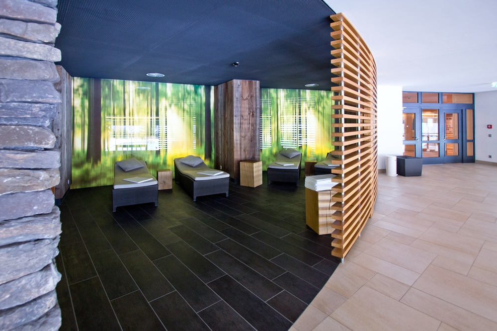 Liegefläche Relax Entspannung Interalpen Hotel Tyrol