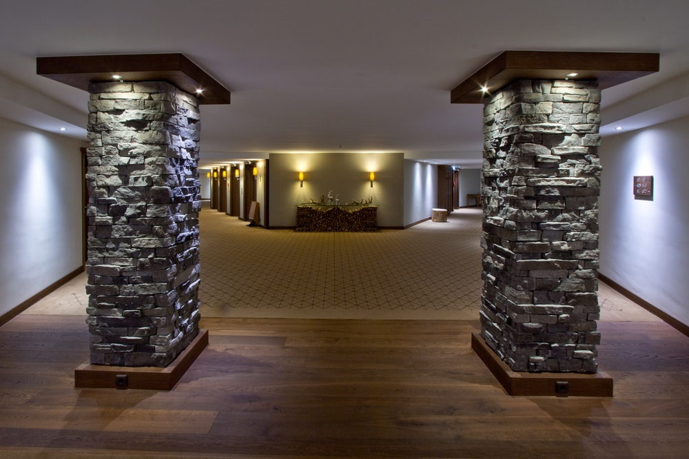 Interalpen-Hotel Tyrol Gang Aufzug