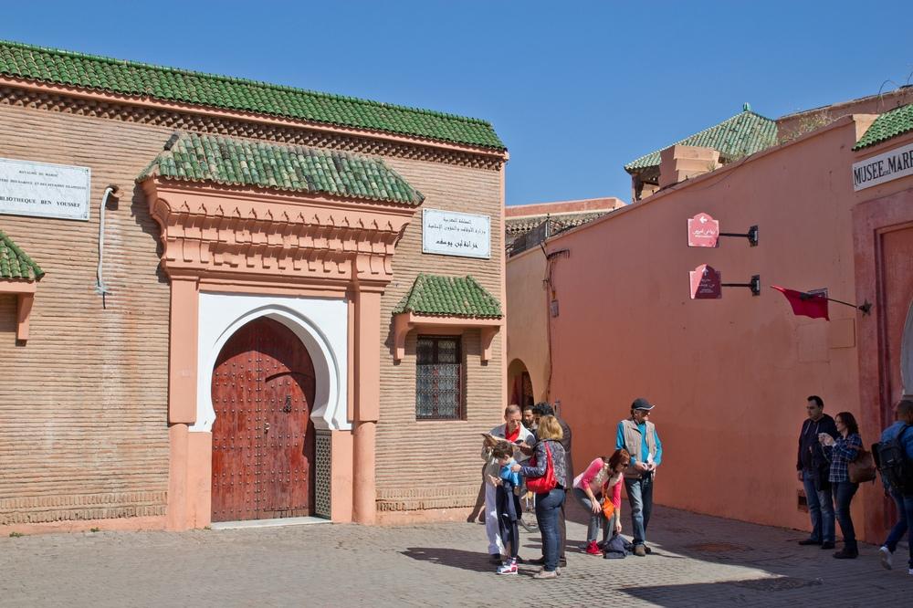 Medersa Ben Youssef Marrakesch Sightseeing