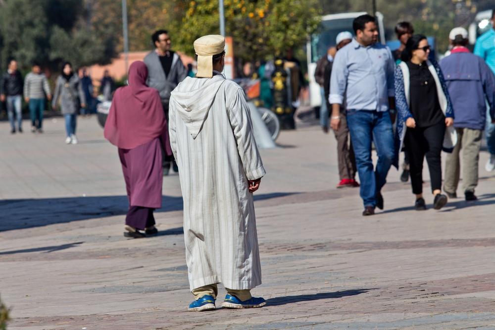 Mensch Marrakesch Einheimischer Local