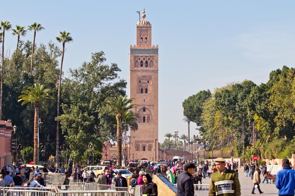 Koutoubia-Moschee Djemaa el Fna Marrakesch