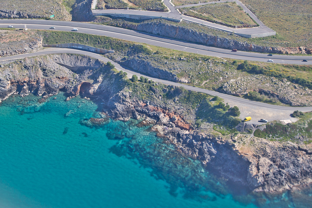 Insel Kreta klares Wasser Meer Strand Küste