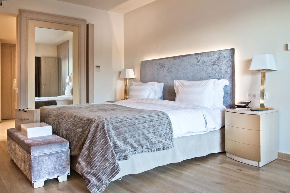 Villa Schlafzimmer Daios Cove Luxury Resort & Villas Kreta