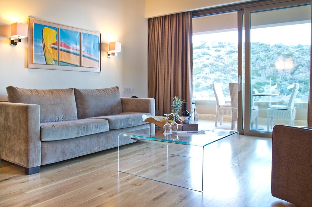 Villa Wohnzimmer Daios Cove Luxury Resort & Villas Kreta