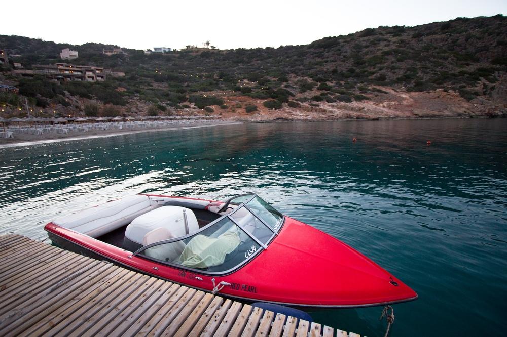 Wassersport Wakeboarden Wasserski Daios Cove Kreta