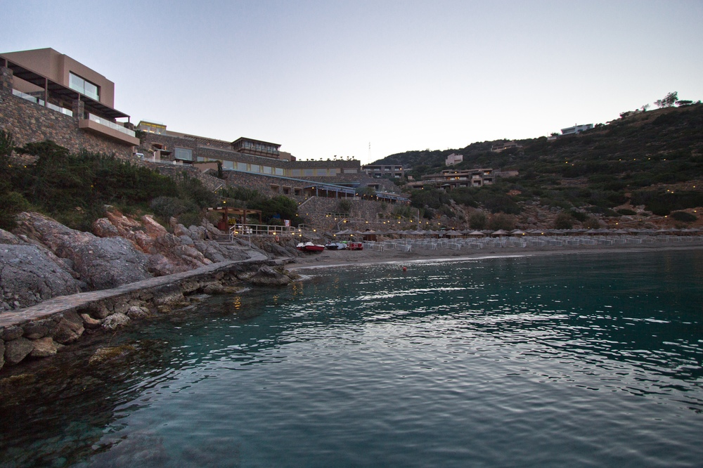 Sonnenuntergang  Daios Cove Luxury Resort & Villas Kreta