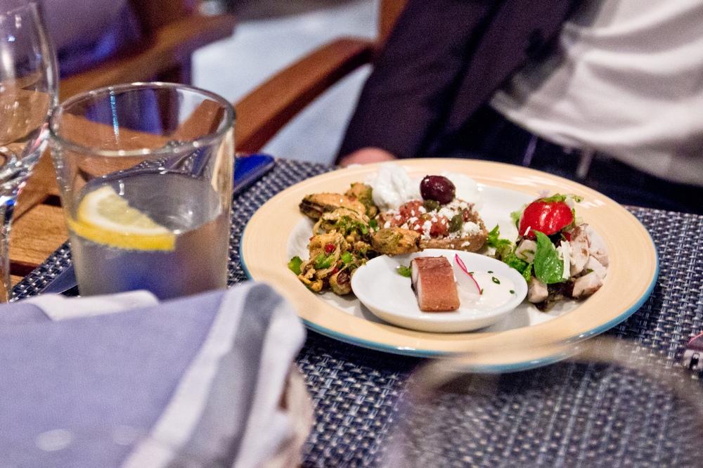 Essen Grillen Grillabend Daios Cove Hotel Kreta