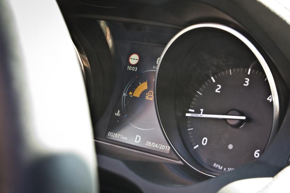 Tacho Kombiinstrument Land Rover Range Rover Evoque Cabrio SUV