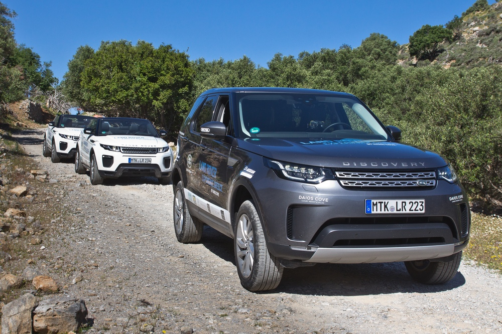Land Rover Range Rover Evoque Cabrio & Land Rover Defender