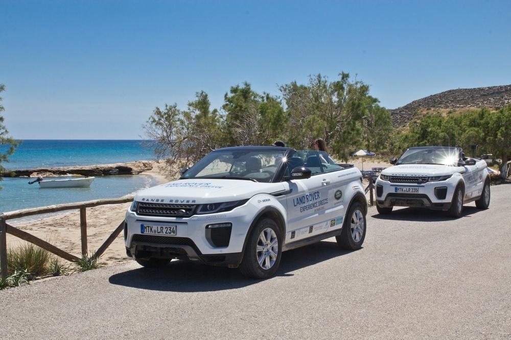 Kreta Meer Land Rover Range Rover Evoque Cabrio SUV