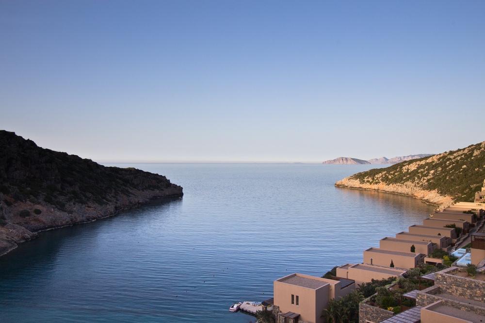 Bucht Kreta Meer - Daios Cove Hotel Luxus