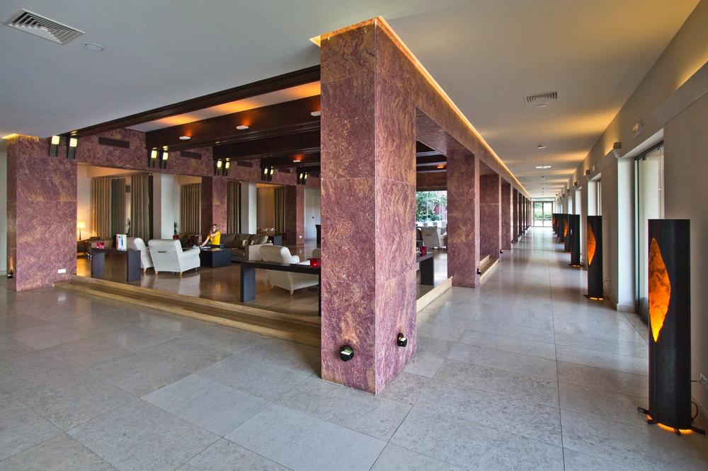 Eingangsbereich - Daios Cove Hotel Kreta Luxus