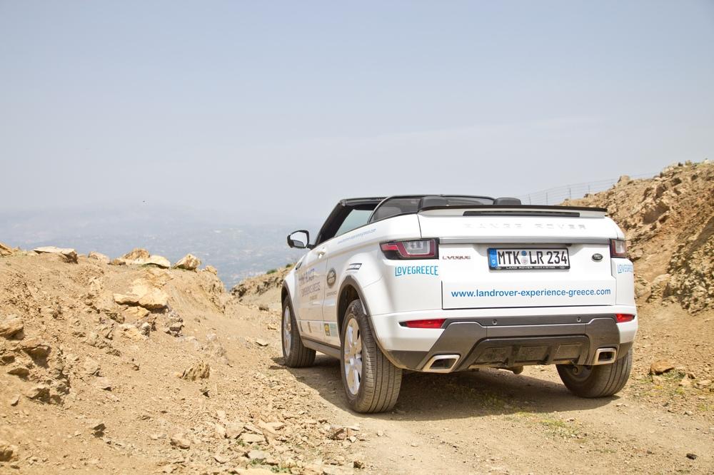 Land Rover Experience Greece 2017 Berge Kreta Süden