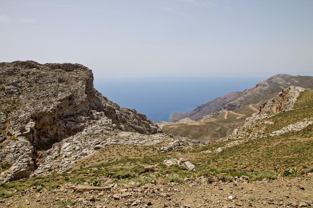 Kreta Meer Berge Landschaft