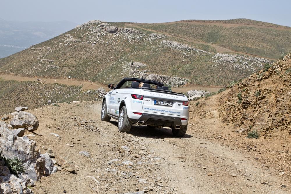 Land Rover Range Rover Evoque Cabrio Tour Kreta