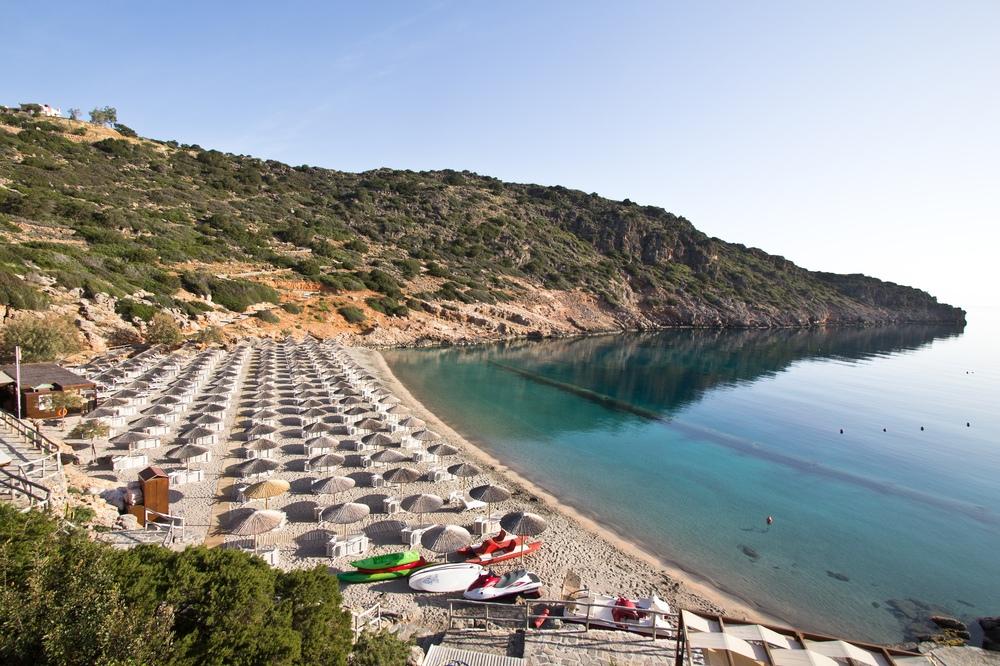 Kreta Hotel Daios Cove Luxus Strand