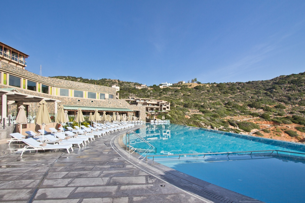 Pool Kreta Hotel Daios Cove Luxus